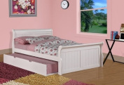 Sleigh Bed with Twin Trundle Size