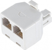 Consumer Electronic Products Ge 26191 Duplex Wall Jack Adapter (White, 4-Conductor) Supply Store