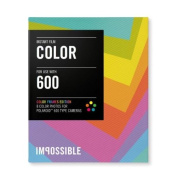 Impossible PRD2959 Colour Film for Polaroid 600-Type Camera Frame