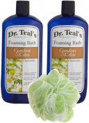 Dr. Teal's Foaming Bath, Chamomile, 34 Fluid Ounce