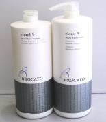 Brocato Cloud 9 Miracle Repair Shampoo & Repair Treatment Set w/ Pump 1 Liter950ml each