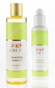 Pure Fiji Nourishing Exotic Oil and Travel Hydrating Body Lotion, Starfruit