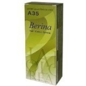 Berina Permanent Hair Dye (A 35) Golden Green Blonde Colour Collection Thai 2 Pack