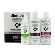 Joico Cliniscalp Trial Rx Kit - Early Stages of Thinning (For Chemically-Treated Hair) 3pcs