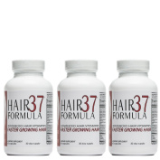 Hair Vitamins | Faster Growing Hair | Healthy Hair Growth | Biotin for Hair | Advanced Hair Formula 37 Hair Growth Vitamins 3 month supply