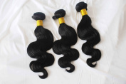 New design unprocessed undyed virgin weaving black 5A grade body wave Indian hair extention