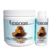 Linange No Lye Shea Butter Cream Relaxer Single Application. by LINANGE BEAUTY