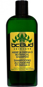 Hemp & Omega 3 Botanical Shampoo 350ml for Itchy Scalp, Oily Hair and Hair Loss with Natural Hemp Seed Oil, Aloe Vera, Chamomile, White Willow, Red Clover Extracts, for Naturally Soft, Clean, Healthy, Radiant Hair