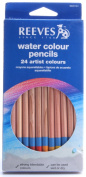 Reeves Water Colour Pencils,Set of 24