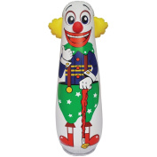 Old Style Clown Punching Bag - Inflatable Bounce Back Toy