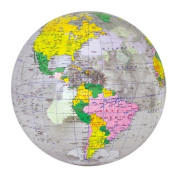 Jet Creations Inflatable Globe, Clear, 41cm