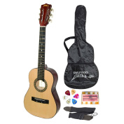 Pyle-Pro PGAKT30 80cm Inch Beginner Jamer, Acoustic Guitar w/ Carrying Case & Accessories