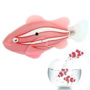 Sannysis2008 Pink Robo Fish Electronic Clownfish