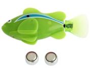 Sannysis2008 Electric Pet Fish with Aquatic Gift for Kids Green Novel Robo Fish