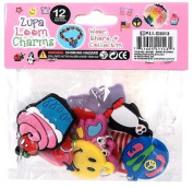 CHARMS PACK OF 12 CHARMS