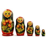 5 pcs/ 18cm Strawberries Russian Nesting Dolls Matryoshka