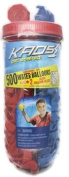 500ct Water Splashers Water Bombs Team Tubes Balloons - RED and BLUE - Biodegradable