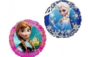 Disney Frozen Party Supplies Double Sided Sisters Anna and Elsa Mini Foil Balloon