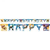 Skylanders Banner Happy Birthday Party Decoration
