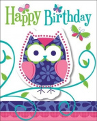 Owl Pal Birthday Invitation by Creative Converting - 895624