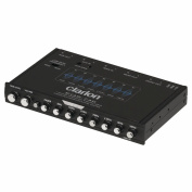 CLARION EQS746 Half-DIN Graphic Equaliser with Built-In Crossover