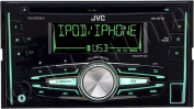 JVC KW-R710 - car - CD receiver - in-dash unit - Double-DIN