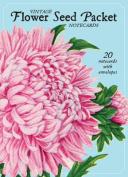 Vintage Flower Seed Package Notecards