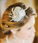 Celebrate It Pearl Feathers Wedding Headband