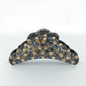 Twinkle Large Crown Crystal Jaw Hair Clip