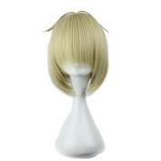 CosplayWIN 33cm Ao No Exorcist Shiemi Moriyama Platinum Blonde Hair Wig