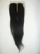Wholesale Mid- Part Lace Front Top Closure brazilian Virgin Remy Hair natural straight 5*5 natural colour Can Be Dyed