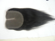 Wholesale Mid- Part Lace Front Top Closure Indian Virgin Remy Hair natural straight 5*5 natural colour Can Be Dyed