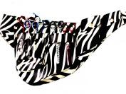 ZZZRT New Professional Hairdressing Scissors Shear Wallet Holster holder pouch white zebra Colour