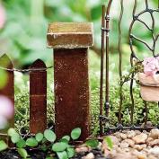 Miniature Fairy Garden Antiqued Column