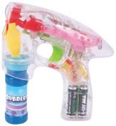 Rhode Island Novelty Light-Up LED Transparent Bubble Gun