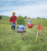HearthSong Kick Croquet Outdoor Game