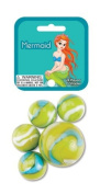 MERMAID MARBLE NET - 24 Player Marbles & 1 Shooter Marble