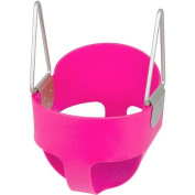Swing Set Stuff Highback Full Bucket Seat Only with SSS Logo Sticker, Pink