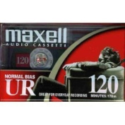 Maxell UR 120 - Cassettes- Normal BIAS - Box of 10 Cassettes