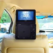 TFY Car Headrest Mount for Portable DVD Player-18cm