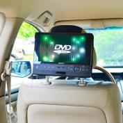 TFY Car Headrest Mount for Swivel & Flip DVD Player-25cm