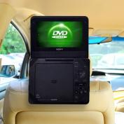 TFY Car Headrest Mount for Portable DVD Player-23cm