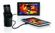 Philips PV9002i/37 TwinPlay 23cm Dual Screen In-Car Videoviewer for iPod, iPhone and iPad