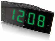 GPX, Inc. C353B AM/FM Clock Radio with Dual Alarms and LED Display