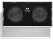 Monoprice 106317 13cm Centre Channel Micro-Flanged In-Wall Speaker