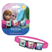 Disney Frozen Bracelet with Elsa, Anna, Sven and Olaf Charms - Pink