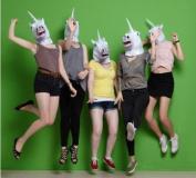 Sunxue halloween Unicorn mask Animal mask