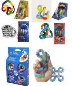 Set of 5 Tangle Fidget Toys