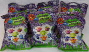 Monster Marbles Series 1.1 ~ 2 Marbles, Chalk & Games Included ~ Pack of 6