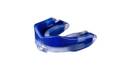 MoGo Sport Youth Blue Raspberry Flavoured Mouthguard, Clear